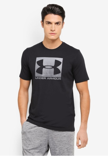 Under Armour black UA Boxed Sportstyle T-Shirt UN337AA0SU54MY_1