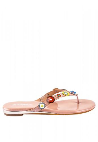 2d2c220c0 Shop Otto Floral Thong Slide Sandals Online on ZALORA Philippines