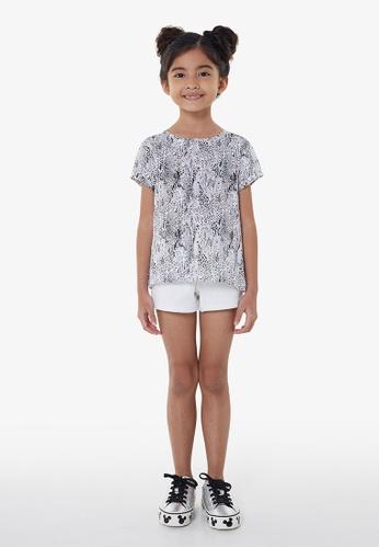 Gen Woo black Animal Print T-shirt By Gen Woo 14B82KAB0A24F2GS_1