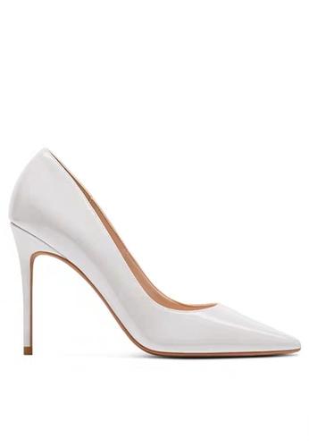 Twenty Eight Shoes 10CM Faux Patent Leather High Heel Shoes D01-q 975B3SH32F9861GS_1