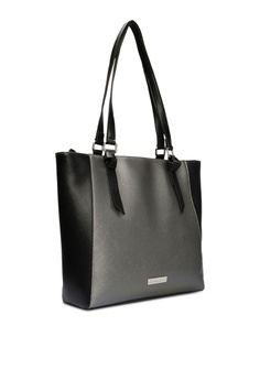 18cefc35978c 65% OFF Jones New York Signature Margot Tote Silver Bag S  148.00 NOW S   51.90 Sizes One Size