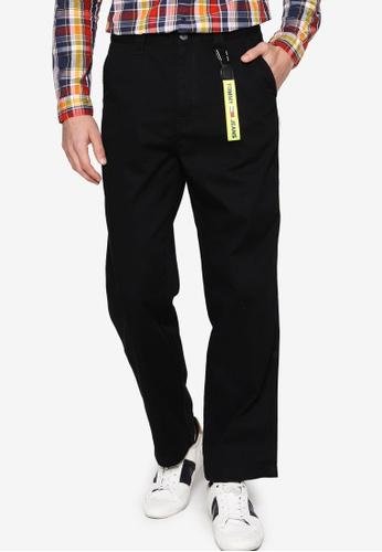 Tommy Hilfiger black Tjm Skater Cotton Pant - Tommy Jeans C15C8AA2092734GS_1