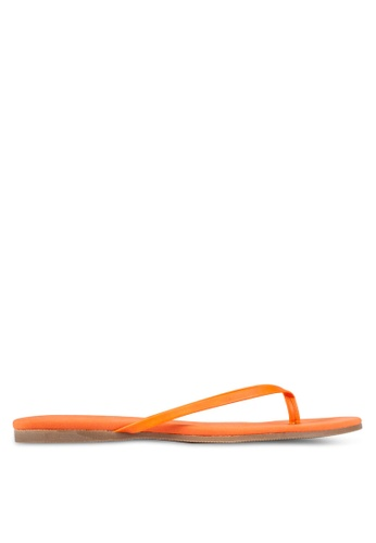 Christy Ng orange Violet Orange Flip-Flops CH330SH0RXOPMY_1
