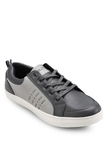 拼色仿皮運動鞋, 鞋, 休閒esprit tsim sha tsui鞋