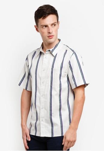 Factorie 多色 Short Sleeve Oversized Shirt D2629AA2DCBC58GS_1