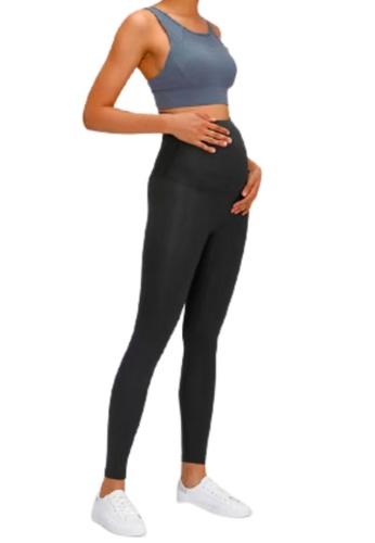 OHMfinity 黑色 OHMfinity LOVINA Maternity Leggings - Black 2F351AA42D3438GS_1