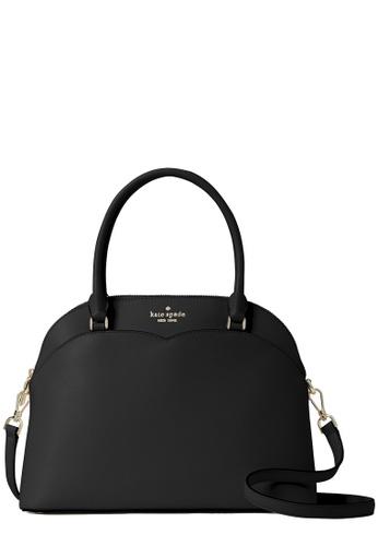 Kate Spade black Kate Spade Payton Medium Dome Satchel Bag in Black 3D73EAC40A41F8GS_1