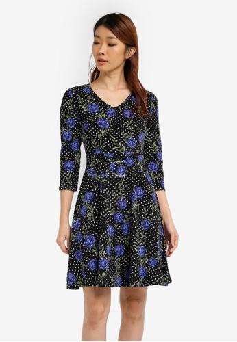 b35c62dd0c42b Buy Dorothy Perkins Spot Floral Dress   ZALORA HK
