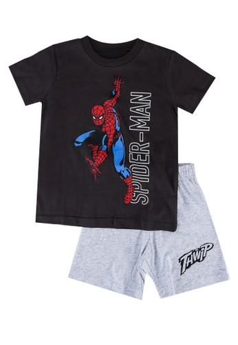 FOX Kids & Baby grey Spiderman Pyjamas Set 549CAKA636F4ADGS_1