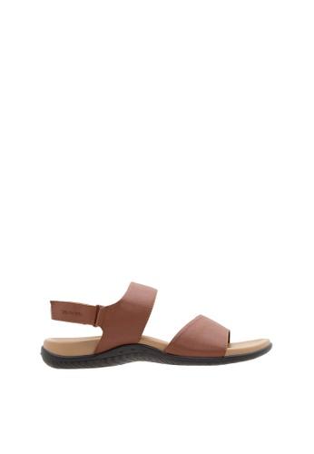 SEMBONIA brown SEMBONIA Men Microfiber Sandal (Brown) E6FF3SH619C5A0GS_1
