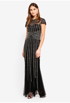 6f2c4d1db8 28% OFF Goddiva Sunray Hand Embellished Maxi Dress S  219.90 NOW S  158.90  Sizes 12