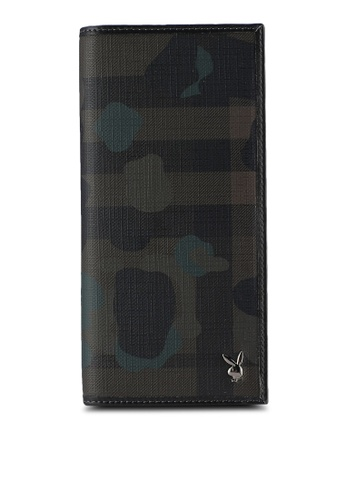 Playboy brown Playboy Bi-Fold Long Wallet PL371AC64PCXMY_1