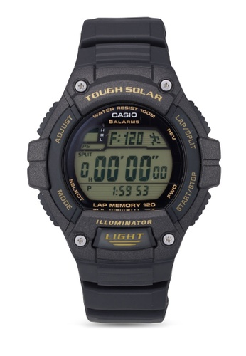 Casio black Youth Digital Dial Men's Watch CA843AC76XZFMY_1