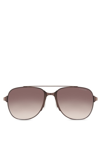 Carrera brown Carrera 114/S Sunglasses CA432GL08HRBMY_1