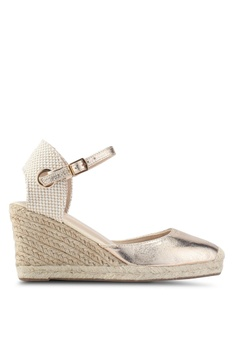 07a406896ba Dorothy Perkins gold Gold Raya Espadrille Wedge 6E005SHFE12D6FGS 1
