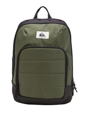 Quiksilver green Burst 24L Medium Backpack 71C80AC23B63A3GS_1