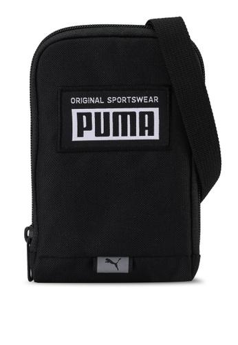 PUMA black Academy Neck Wallet Bag BFD13ACF38FAAEGS_1