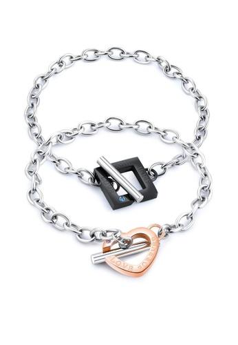 ADORA Stainless Steel Couple Bracelet 2777BAC217D0EFGS_1