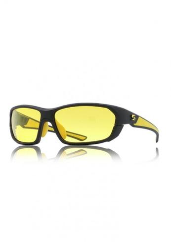 Sorrento black HD Polarized Sunglasses Python #19-B3 90490GL5870AEBGS_1