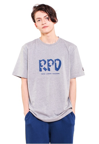 Reoparudo 灰色 RPD 331系列T恤(灰色) CDCAFAA17AD6E5GS_1