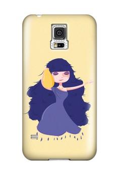 Zodiac Aquarius Glossy Hard Case for Samsung Galaxy S5