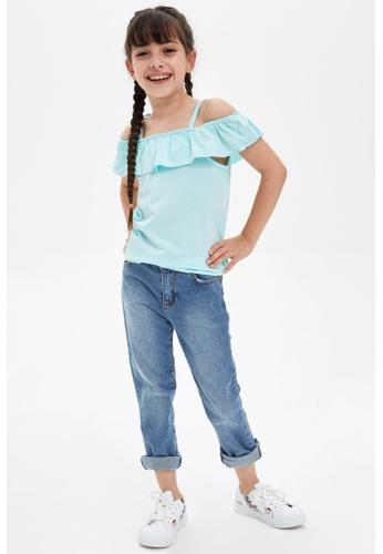 DeFacto blue Girl Knitted Athlete 71828KA7535D05GS_1
