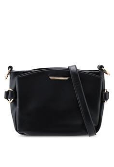 3195d09fc7ad VINCCI black Soft Faux Leather Shoulder Bag 72C9BACDA4598BGS_1