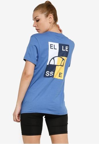 Ellesse blue Abrita Tee DC744AAE05313CGS_1