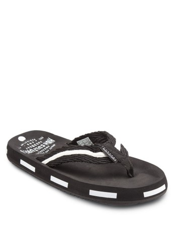 雙色休閒拖鞋, esprit 鞋鞋, 鞋