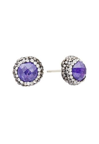 Fervor Montreal purple Fervor Montreal-Druzy Earrings Round 8330EAC2B62937GS_1