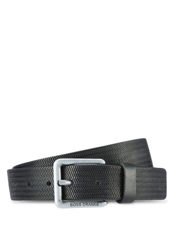 Boss Orange black Josel Belt BO434AC0RPQ9MY_1