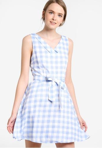 Pink Evil's Fashion Supermarket blue Vintage Summer Sundress PI908AA94UVTMY_1