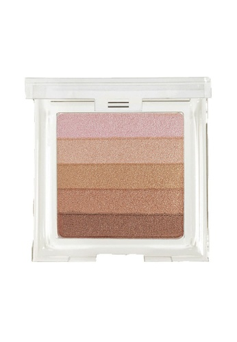 Physicians Formula multi and beige Eye Shadow: [Physicians Formula Official] Shimmer Strips Custom Bronzer, Blush & Eye Shadow - Miami Strip / Healthy Glow Bronzer (FREE x1 Angle Brow Brush) PH385BE60DILMY_1