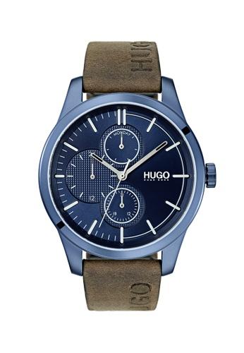 Hugo Boss blue HUGO #Discover Blue Men's Watch (1530083) 20FCBACCEBF6E1GS_1