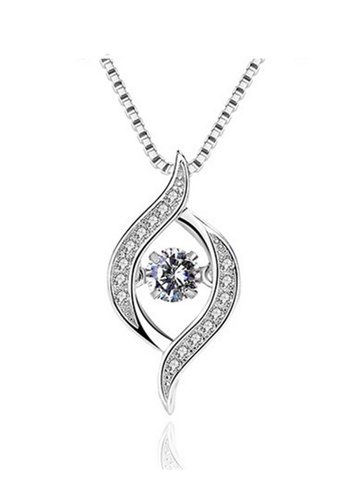LYCKA silver LPP88032 S925 Silver Necklace 64D55ACB8ACCCDGS_1