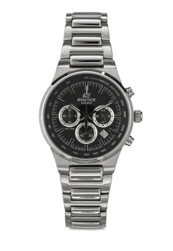 EF-500BP-1AVDFesprit outlet 台灣 男士計時功能不銹鋼手錶, 錶類, 飾品配件