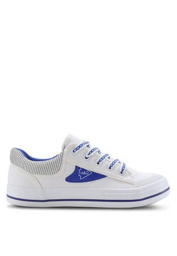 Twenty Eight Shoes white Fashion Canvas Sneakers TW281SH65ZXQMY_1