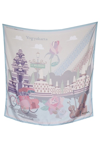 Modest-Runway Inc. pink ALLURA My Favorite City Yogyakarta SILK Scarf/Hijab 5AEC0AAF151055GS_1