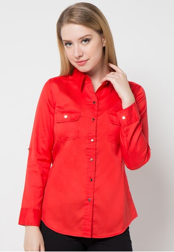 EPRISE red Blouse EP457AA95PUUID_1