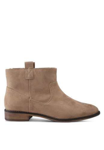 ONLY brown Bobby Ankle Booties ON573SH0T0DEMY_1