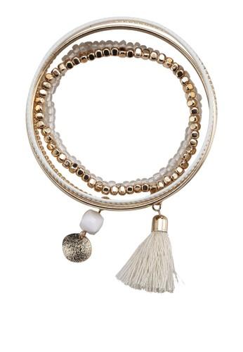 Carmenesprit taiwan 串珠吊墜手環組合, 飾品配件, 飾品配件