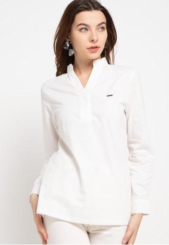 Spyderbilt white Star Ladies Shirt Long 177BAAA97F7C7DGS_1