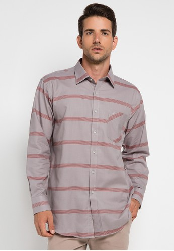 Manhattan grey Shirt Long Sleeve MA642AA0UKDNID_1