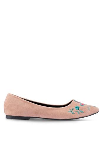 Berrybenka pink Suri Octo Ballerina Flats 10059SHD4A0D30GS_1