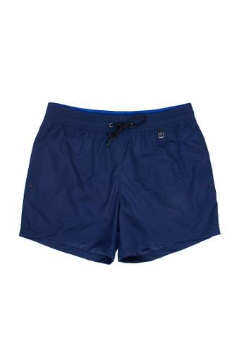 HOM 藍色 Sunlight沙灘短褲 - 藍色 24208US67197D8GS_1