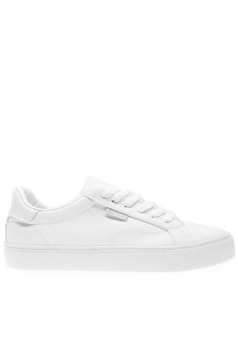 Twenty Eight Shoes white Basic Lace Up Sneakers 6827 TW446SH2UXEKHK_1