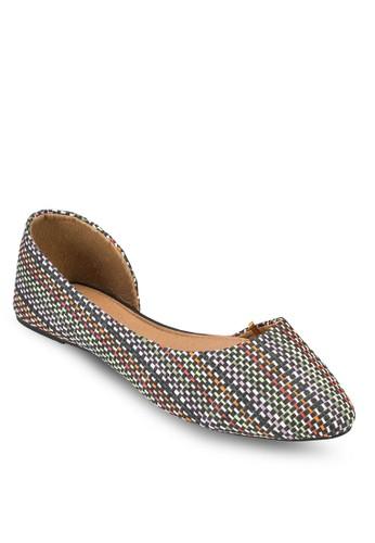 Pippa 側空尖頭esprit 香港 outlet平底鞋, 女鞋, 鞋