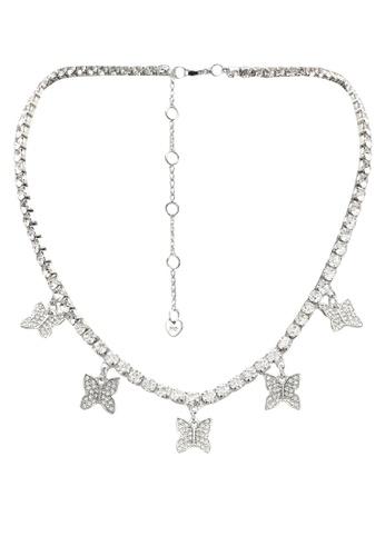 ALDO silver Filian Necklace 473C1AC0A401B1GS_1