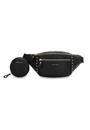 Bethany Roma black Bethany Roma Ladies Waist Bag - Black 797F7ACD4C56D7GS_1