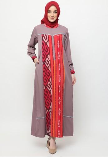 Jual Karina Design Maudy Gamis Tenun Original Zalora Indonesia